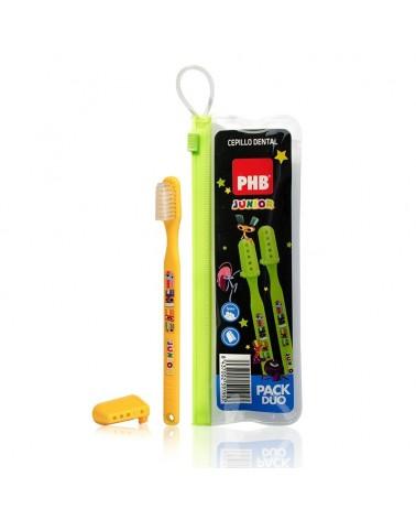 Pack Cepillo PHB® junior duo + estuche
