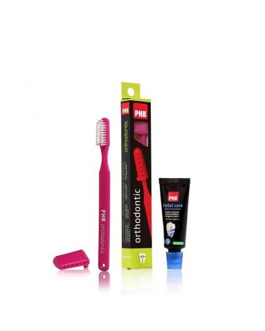 Pack Cepillo PHB® orthodontic + mini pasta 15ml